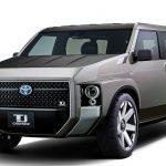 トヨタ「新型 Tj CRUISER」発表;SUV×VANの新スタイル!
