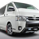 トヨタ「新型ハイエース TRD」発売;公式デザイン画像集!