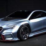 SUBARU「新型 VIZIV PERFORMANCE STI CONCEPT」発表;実車デザイン画像集!