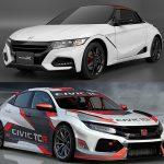 ホンダ「オートサロン2018」出展車両一覧;「S660 Modulo X」や「CIVIC TCR」など
