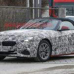 BMW「新型Z4」スープラ兄弟モデルのテスト車両撮影に成功!