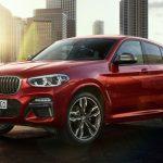BMW 「新型 X4 M40d 2019」公式デザイン画像集!