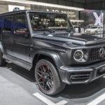 メルセデスAMG「新型 G63」Gクラス最強モデルの漆黒ボディ初公開!