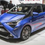 トヨタ「新型 AYGO 2019」発表;実車を見ると日本にも…