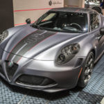 アルファロメオ「新型 4C コンペティツィオーネ」発表;実車モデルがカッコイイ!