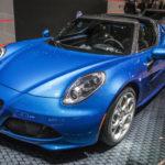 アルファロメオ「新型 4Cスパイダー・イタリア」発表;108台の限定発売!