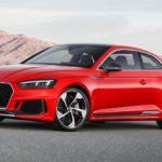 アウディ「新型 RS5 Coupe 2018」公式デザイン画像集!