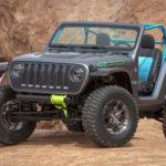 Jeep「4SPEED concept」発表;カーボン製の超軽量ジープ!