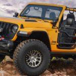Jeep「Nacho concept」発表;パーツフル装備のナチョカラー!