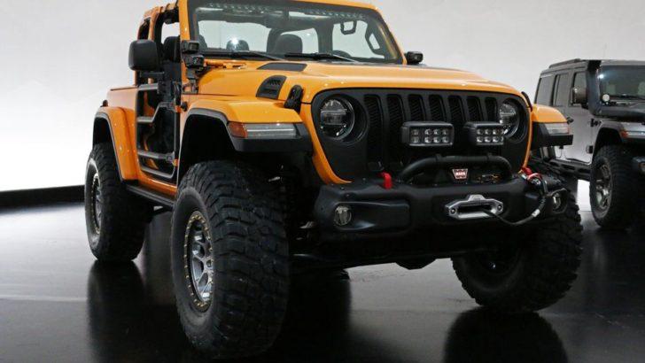 Jeep「Nacho concept」発表;パーツフル装備のナチョカラー! - NEWCAR-DESIGN