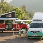日産「新型 NV300 and e-NV200 Camper Vans」公式デザイン画像集!