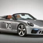 ポルシェ「新型 911 Speedster Concept」公式デザイン画像集!