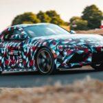 トヨタ「新型スープラ」市販モデルが初お披露目!
