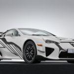 レクサス「新型 LFA Art Car」公式デザイン画像集!