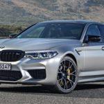 BMW 「新型 M5 Competition 2019」公式デザイン画像集!