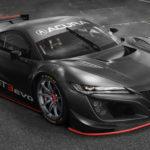 ACURA「NSX GT3 EVO」発表;NSXレース仕様が超カッコイイ!