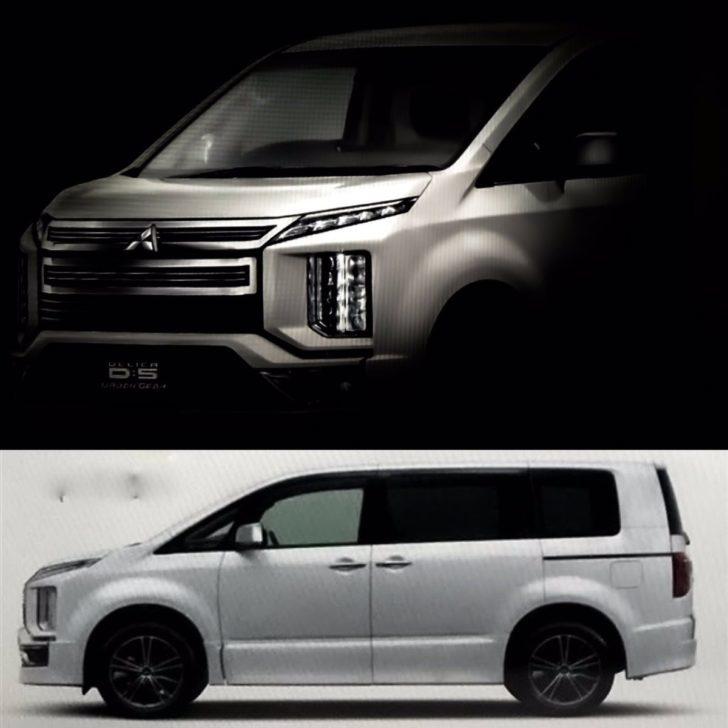 三菱「新型デリカD5」カタログ画像などなど11月20日発表へ ...