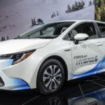 トヨタ「新型 Corolla Hybrid 2020」公式デザイン画像集!