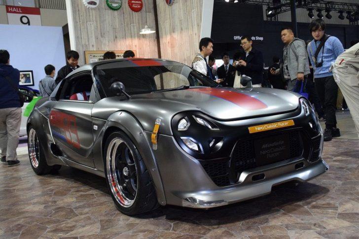 ホンダ「S660 ネオクラシック RACER」実車がやっぱりカッコいい! - NEWCAR-DESIGN