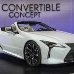 レクサス「新型 LC Convertible Concept」公式デザイン画像集!