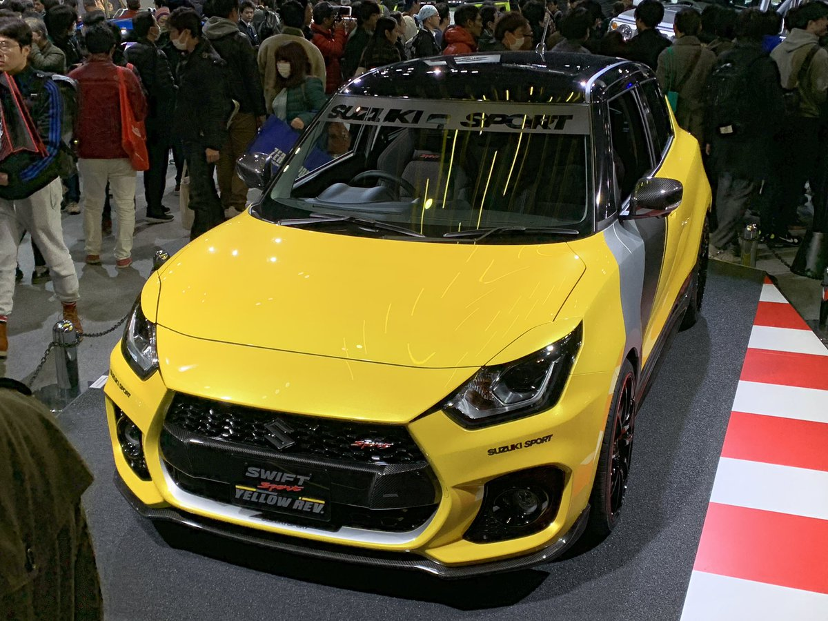 swift sport yellow rev5 - NEWCAR-DESIGN