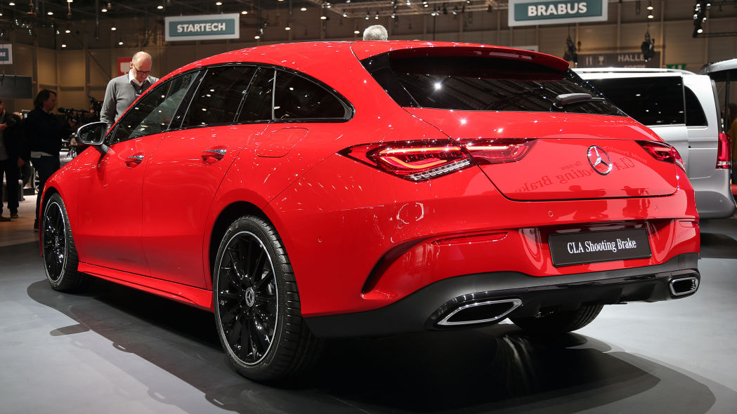 2020 mercedes benz cla shooting brake 1 13 newcar design. Black Bedroom Furniture Sets. Home Design Ideas
