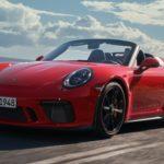 ポルシェ「新型 911 Speedster 2019」公式デザイン画像集!