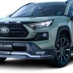 トヨタ「新型 RAV4 JAOS Selected by MODELLISTA」日本発売:公式デザイン画像集!