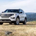 フォード「新型 Explorer Hybrid 2020」公式デザイン画像集!