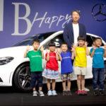 ベンツ「新型 Bクラス」日本発売:発表会で実車を公開!