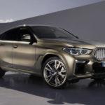 BMW「新型 X6 2020」公式デザイン画像集!