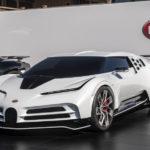 Bugatti「Centodieci」初公開!実車はとにかくイカツイ!