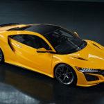 Honda「NSX」に初代Yellowモデルが復活!鮮烈なスパイエロー!