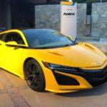 Honda「新型 NSX indy yellow」実車が思った以上に黄色www