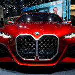 BMW「コンセプト4」の大型キドニーグリルは各車種に展開へ!