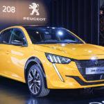 プジョー「新型208」日本発売へ実車を公開!同時にEVモデルも!