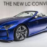 レクサス「新型 LC 500 Convertible」実車デザインギャラリー@LA