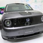 ホンダ「Honda e」ブラックボディの実車デザイン!ボディカラーは全5色!