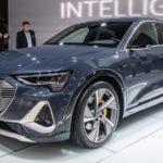 Audi「E-Tron Sportback」実車デザインギャラリー@LA