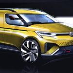 VW「新型キャディー」2020年モデルのスケッチ画像が登場!
