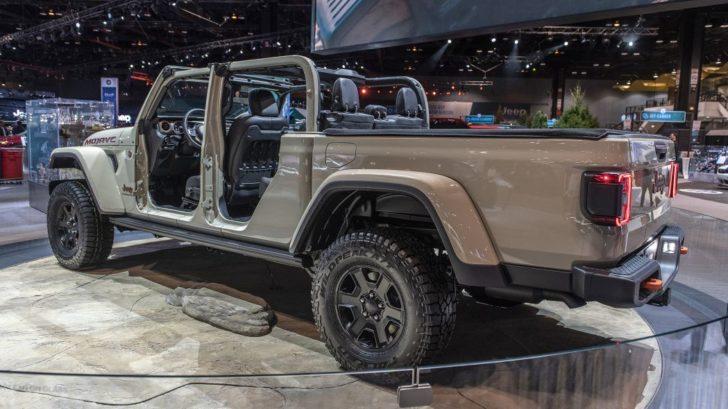 Jeep「新型 Gladiator Mojave」が超カッコいい!シカゴオートショーで公開!