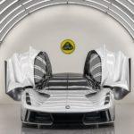 ロータス「新型エヴァイヤ」10分満充電の電動スーパーカーを生産へ!
