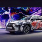 Lexus「UX」にタトゥーのアートカーが登場!なぜ?