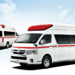 「トヨタ救急車」がハイテク化!デジタルインナーミラーも採用!