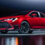 トヨタ「カローラ ハッチバック」に深紅の特別モデル発表!日本もこれでいいんじゃ?