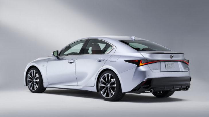 lexus「新型 is 350 f sport」2021モデル発表:公式デザインギャラリー! - newcar-design