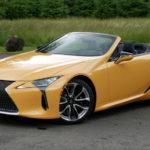 レクサス「新型 LC500 Convertible」実車デザインギャラリー!