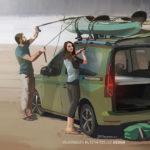 VW「新型キャディー」はキャンパーとして9月にデビュー?