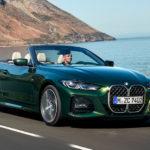 BMW「新型4シリーズ コンバーチブル」公開!ソフトトップは40%軽量化!