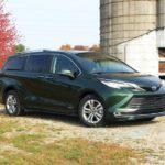 Toyota「新型 シエナ Platinum AWD」発表:公式デザインギャラリー!